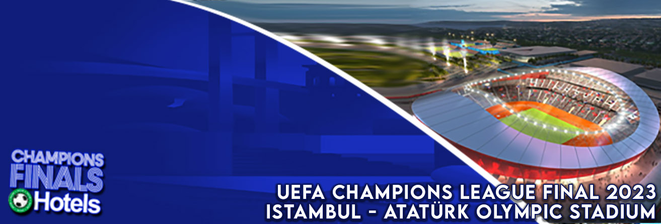 Champions League Finals hotel packages - best prices available, book now!