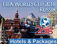 Book FIFA World Cup in Russia 2018 Hotel Packages Luxury or Standard Accommodation - Click Here